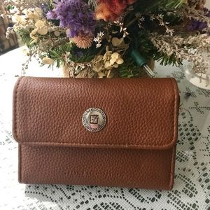 Stone mountain leather wallet